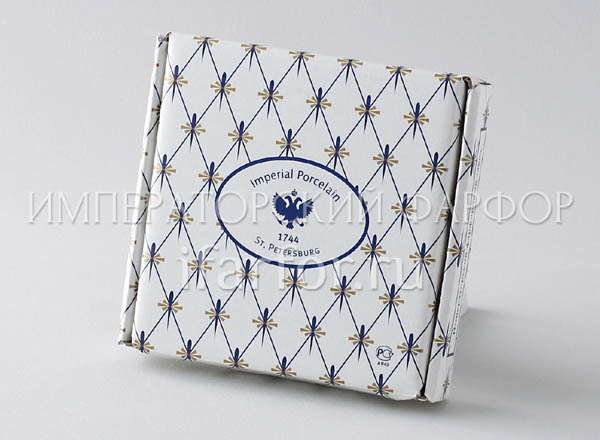 Gift wrapping for plates 110 mm Cobalt net Box