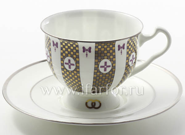 Cup and saucer tea Together forever 1 Isadora