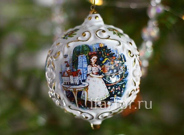 Christmas tree toy Christmas ball Nutcracker